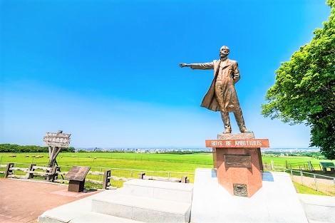 札幌:羊ヶ丘展望台 クラーク像