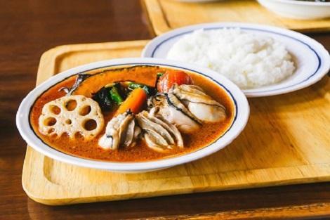 人気の北海道グルメ スープカレー