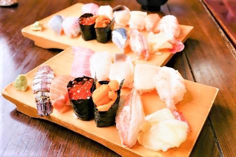 北海道で食べるお寿司は格別!