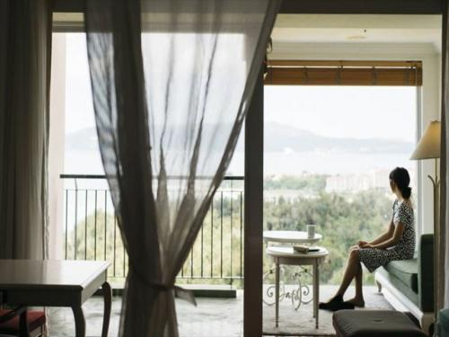 オキナワ マリオット リゾート & スパ 窓際からの眺めは最高