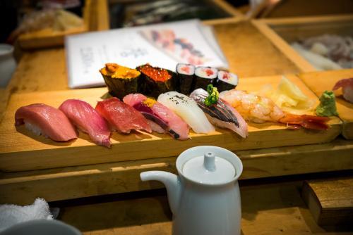 築地のお寿司