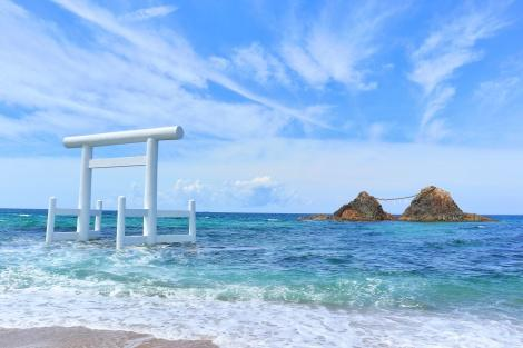◇福岡:糸島(女王岩と白鳥池)