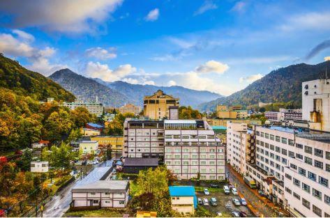 札幌の奥座敷 定山渓温泉