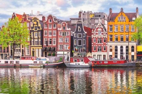 ◇アムステルダム:運河