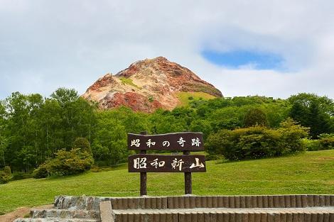洞爺湖:昭和新山