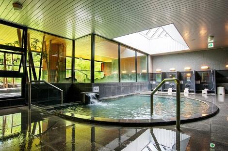 ニセコ:ワンニセコリゾートタワーズ 大浴場(ワンニセコリゾートタワーズ公式ホームページより)