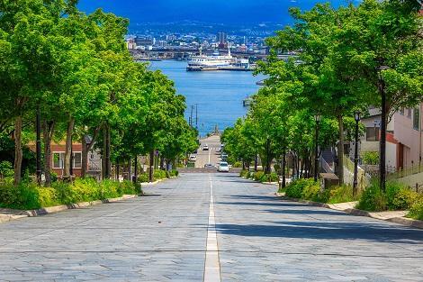函館:八幡坂