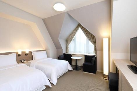 キロロ:トリビュートポートフォリオホテル 客室一例(トリビュートポートフォリオホテル公式ホームページより)