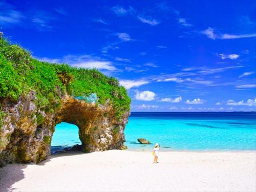 宮古島 美しい写真が撮れる砂山ビーチ