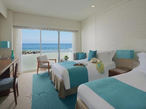 ANAインターコンチネンタル万座ビーチ オーシャンビューのお部屋一例